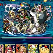黒の海賊龍のダンジョン情報、ノーコン攻略パーティーまとめたよー