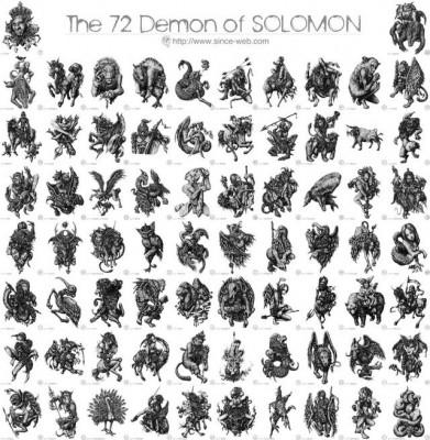 ソロモン72柱